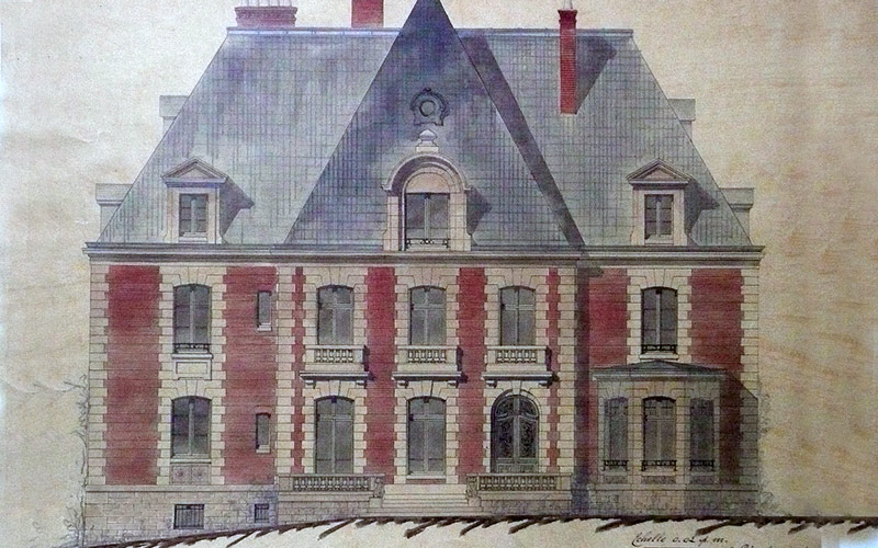 Original Chateau Drawing